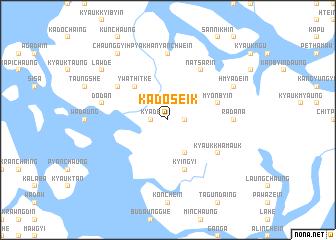 map of Kadoseik