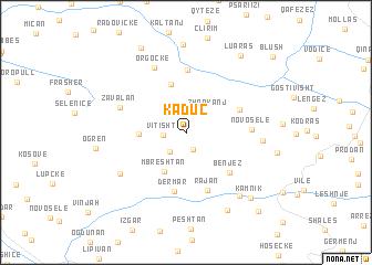 map of Kaduç