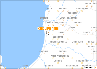 map of Kaduperasi