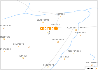 map of Kadybash