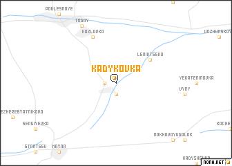 map of Kadykovka
