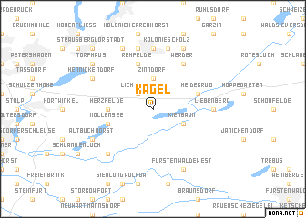 map of Kagel