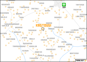 map of Kagtoudi