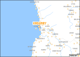 map of Kagumay