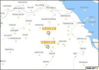 map of Kahkva