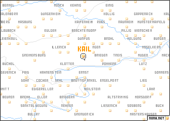 map of Kail