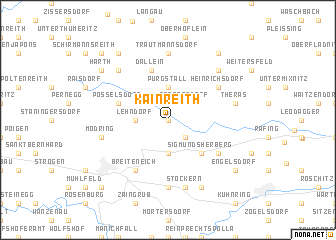 map of Kainreith