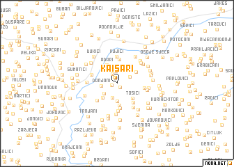 map of Kaišari