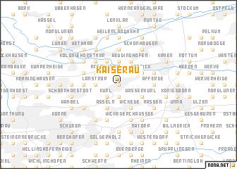 map of Kaiserau
