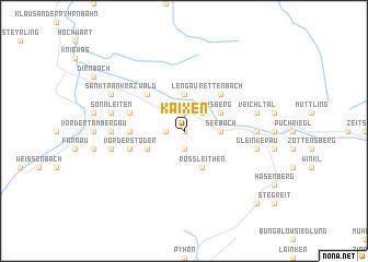 map of Kaixen
