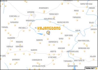 Kajang-dong (Korea, South) map - nona.net
