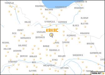 map of Kakaç