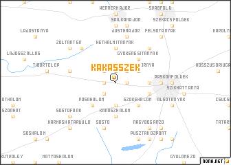 map of Kakasszék