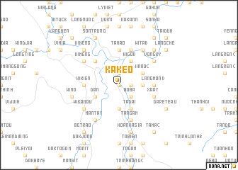 map of Kakeo