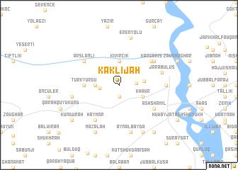 map of Kaklījah