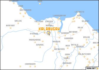 map of Kalabugaw