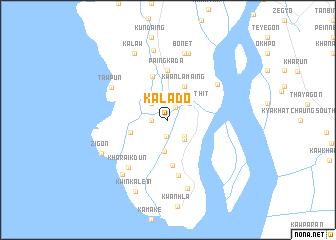 map of Kalado