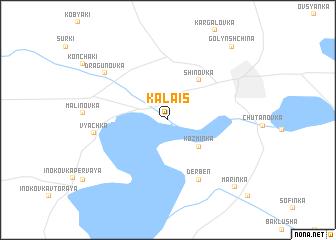 map of Kalais