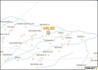map of Kǝlǝk