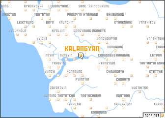 map of Kalangyan