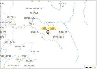 map of Kalasag