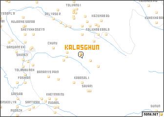 map of Kalāsghūn