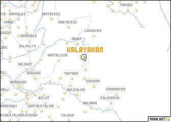 map of Kalayakan