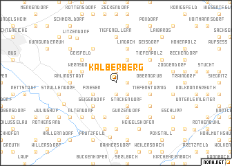 map of Kälberberg