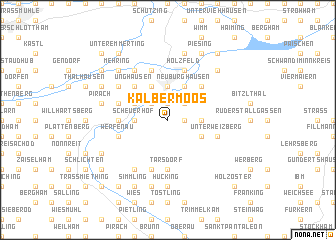 map of Kälbermoos