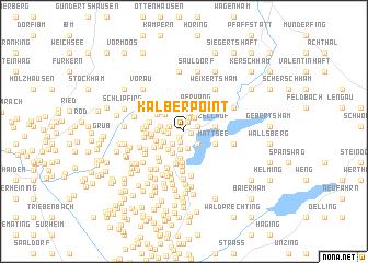 map of Kälberpoint