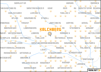 map of Kalchberg
