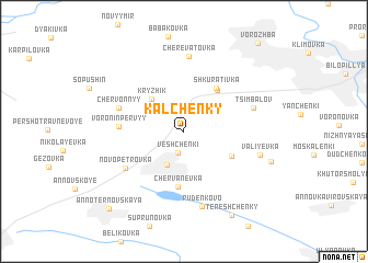 map of Kal\
