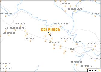 map of Kalemard
