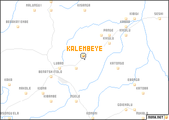 map of Kalembeye
