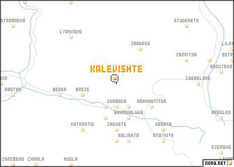 map of Kalevishte