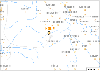 map of Kale