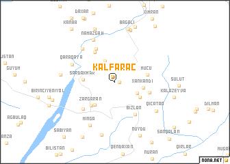 map of Kǝlfǝrǝc