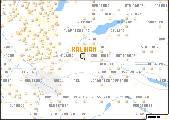 map of Kalham