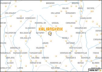 map of Kaliangkrik