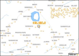 map of Kalibeji