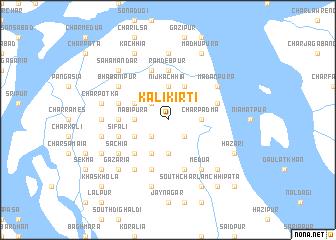 map of Kālikirti