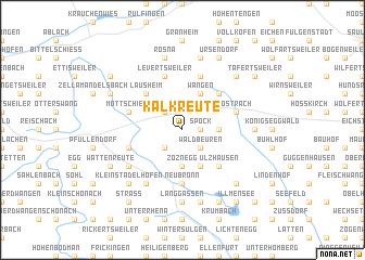 map of Kalkreute