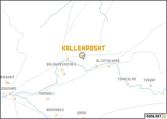 map of Kalleh Posht