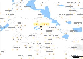 map of Källeryd