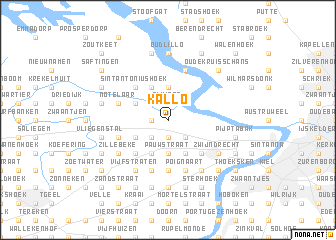 map of Kallo