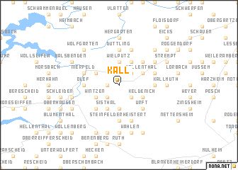 map of Kall