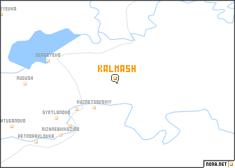 map of Kalmash