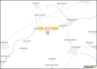 map of Kalmychëk