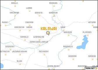 map of Kalnijai