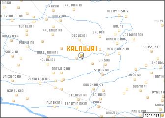 map of Kalnujai